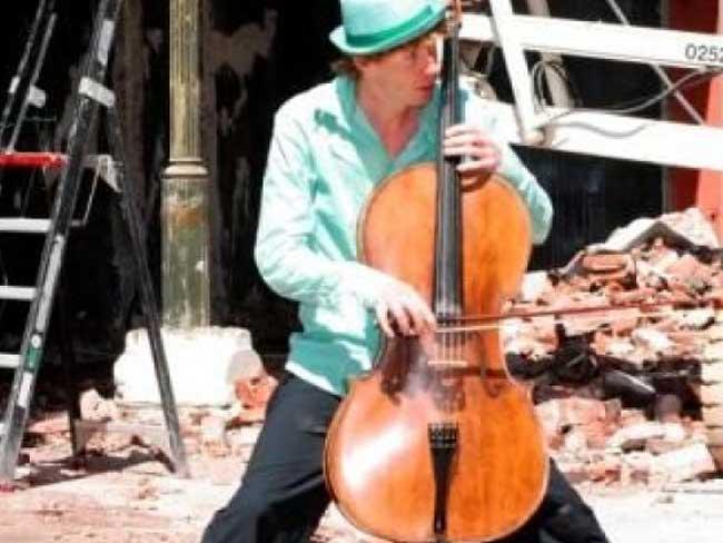 Cellist Jan Willem Troost