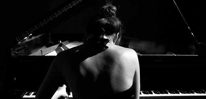 Bruiloft Pianisten thema