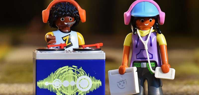 Kids DJ thema