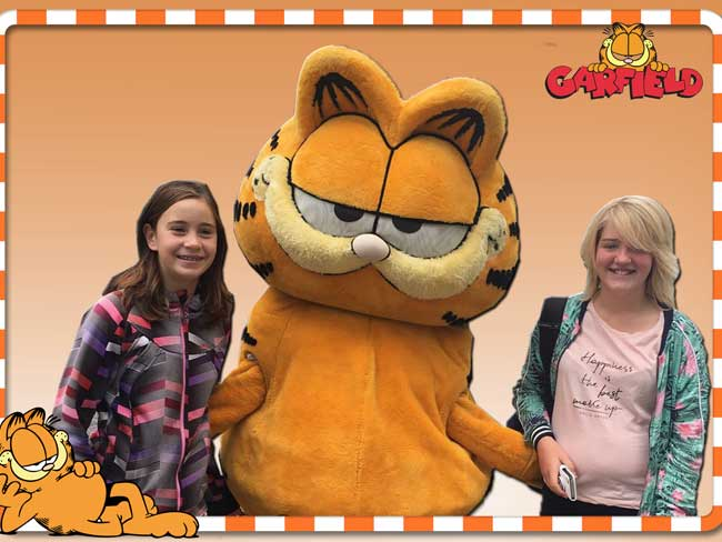 Profielfoto Op de foto met Garfield