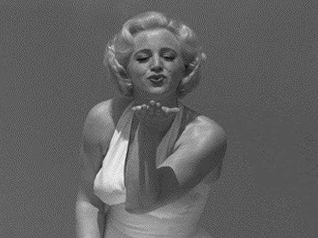 Maggy meets Marilyn