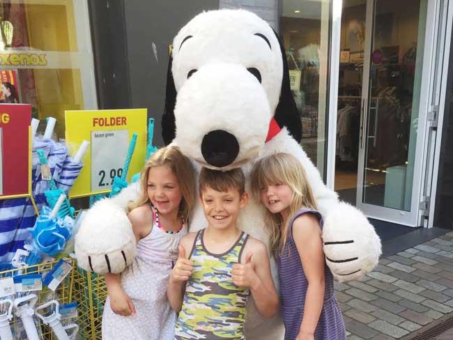 Profielfoto Meet & Greet met Snoopy