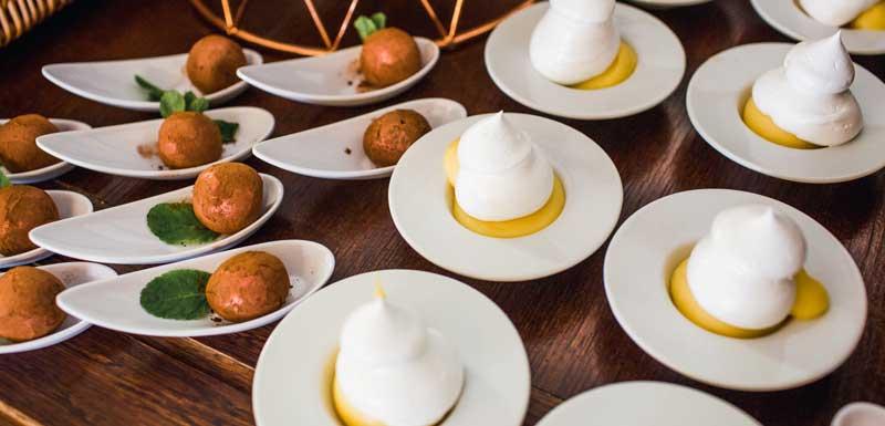 Culinaire Wereld thema