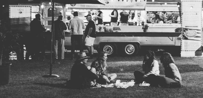 Festival foodtruck thema