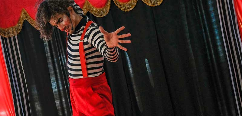 Circus kindershow thema