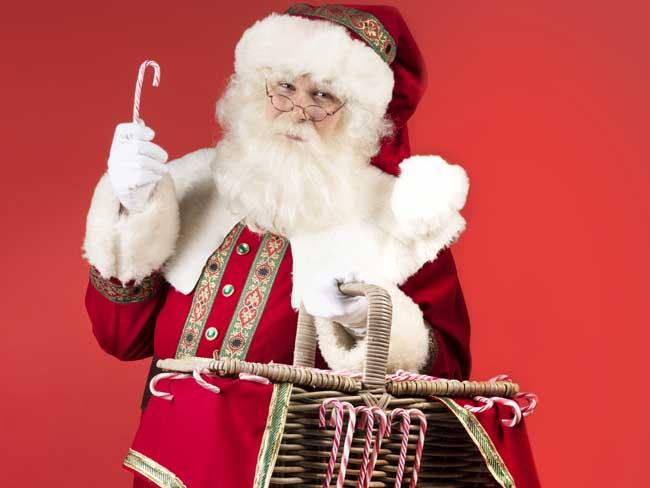 Profielfoto Kerstman deelt uit