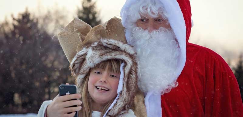 Rondlopend kerstentertainment thema