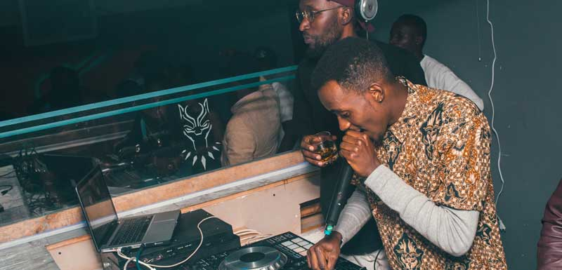 Bekende Urban DJ's thema