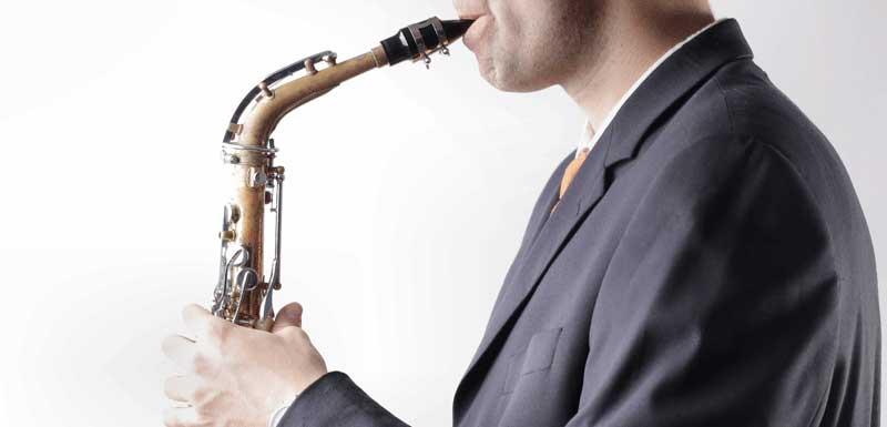Saxofonisten voor bedrijfsfeest thema