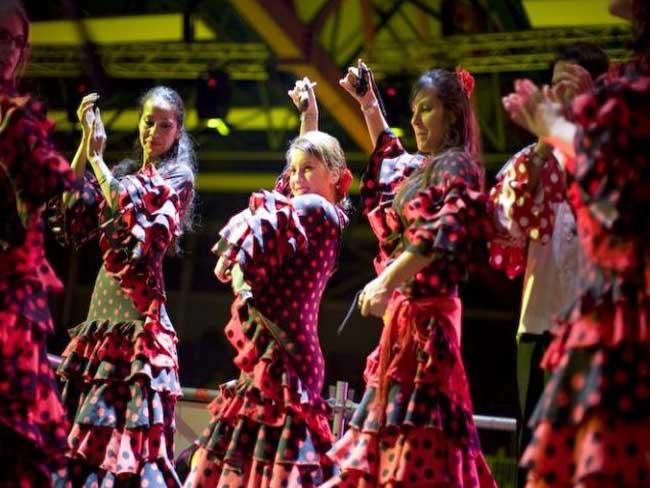 Profielfoto Spaanse dansgroep Alegria