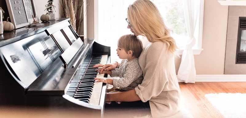 Duo pianoshows thema