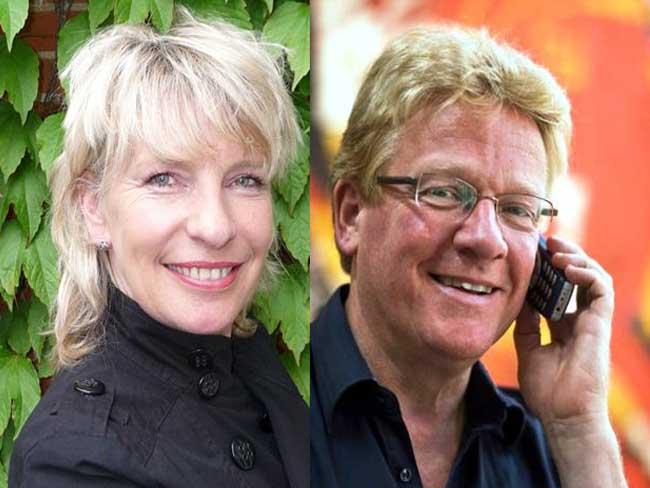 Frank den Hollander & Alina Kiers