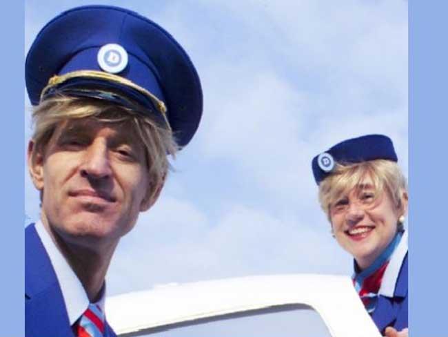 Profielfoto Stewardessen act tijdens ontvangst