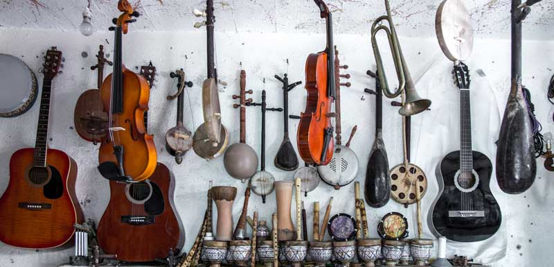 Muzikale workshops thema