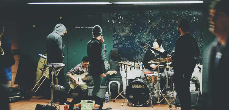 Internationale bands thema