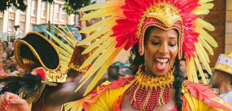 Samba danseresssen thema