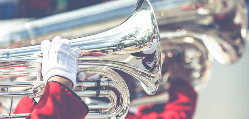 Blaasorkesten thema
