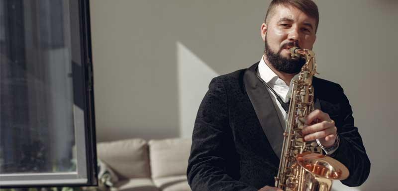 Jazz muzikanten thema