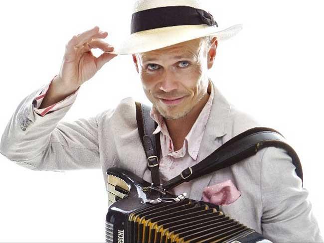 Profielfoto Peter Faber (accordeonist-zanger-troubadour)