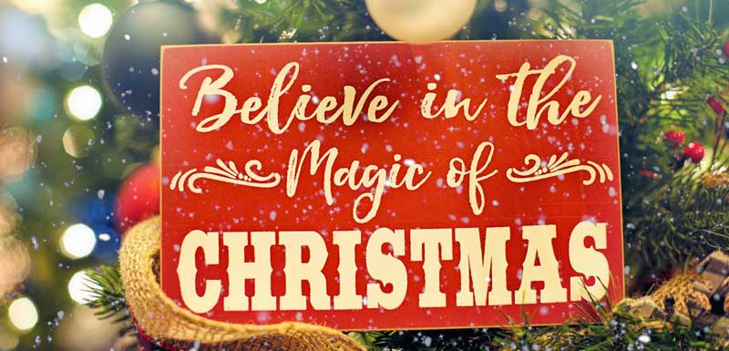 Magic Christmas thema