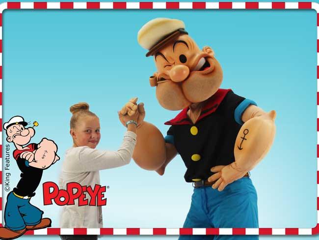 Profielfoto Op de foto met Popeye