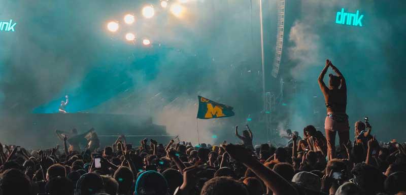 Dance Festival DJ's thema