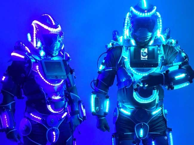 Profielfoto Blu Stilt Walkers Led Robot act