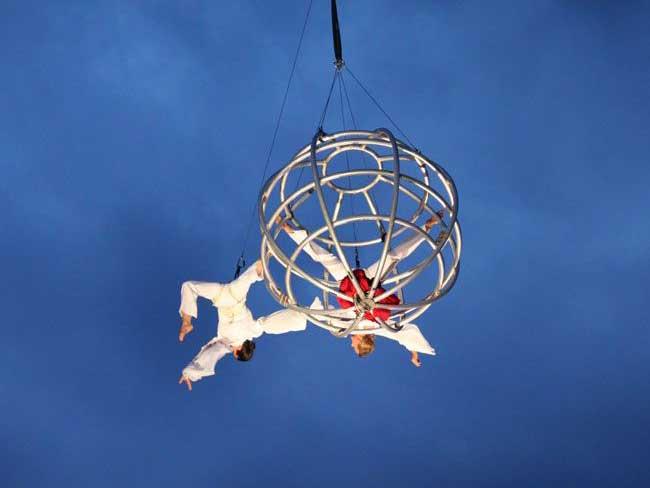 "Profielfoto Flying Globe ""Moondance"""