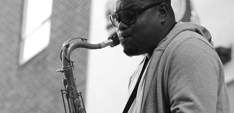 Jazzsaxofonisten thema