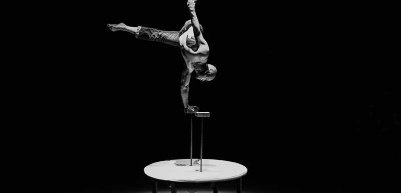Grond acrobatiek thema